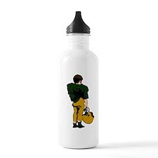 FOOTBALL *22* {green/gold} Water Bottle