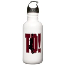 FOOTBALL *21* {crimson} Water Bottle