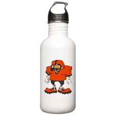 FOOOTBALL *20* {orange/gray} Water Bottle