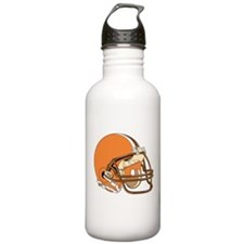 FOOTBALL *15* {orange/brown} Water Bottle