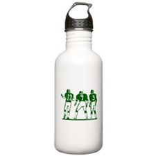 FOOTBALL *5* {green} Water Bottle