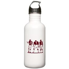 FOOTBALL *5* {crimson} Water Bottle