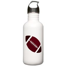 FOOTBALL *1* {crimson 2} Water Bottle