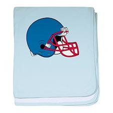 HELMET *2* {blue/red} baby blanket