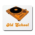 Old School Turntable Mousepad