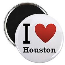 """I Love Houston 2.25"""" Magnet (100 pack)"""