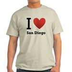 I Love San Diego Light T-Shirt
