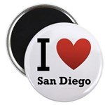 I Love San Diego Magnet
