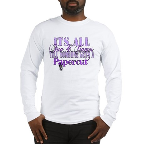 Papercut Long Sleeve T-Shirt