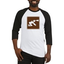 Spelunking Sign Baseball Jersey