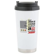 Janice Rossi Ceramic Travel Mug