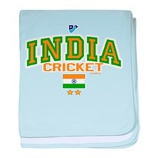 IN India Indian Cricket baby blanket