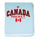 CA(CAN) Canada Hockey baby blanket