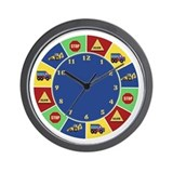 Construction Wall Clock