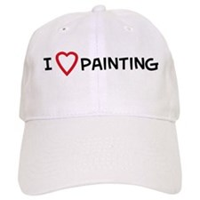 I Love Painting Baseball Cap