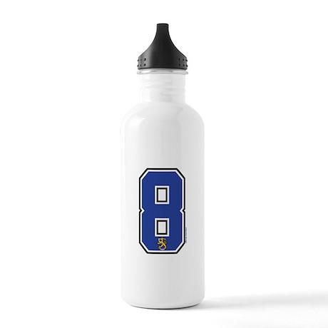 FI Finland Suomi Hockey 8 Stainless Water Bottle 1