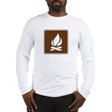 Campfire Sign Long Sleeve T-Shirt