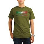 Italian Food Organic Men's T-Shirt (dark)