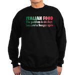 Italian Food Sweatshirt (dark)