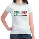 Italian Food Jr. Ringer T-Shirt