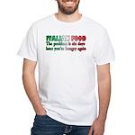 Italian Food White T-Shirt