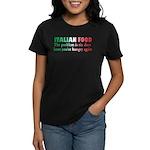 Italian Food Women's Dark T-Shirt