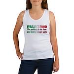 Italian Food Women's Tank Top