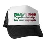Italian Food Trucker Hat