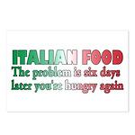 Italian Food Postcards (Package of 8)