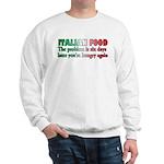 Italian Food Sweatshirt