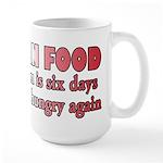 Italian Food Large Mug
