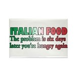 Italian Food Rectangle Magnet (100 pack)