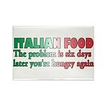 Italian Food Rectangle Magnet