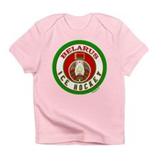 BY Belarus/Bielarus Ice Hockey Infant T-Shirt