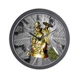 BUDDHA SMOKING BLUNT Wall Clock