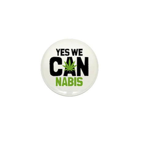 Yes We Cannabis 2 Mini Button