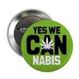"Yes We Cannabis 2 2.25"" Button"