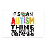 Autism Thing Postcards (Package of 8)