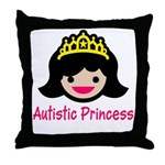 Autistic Princess Throw Pillow