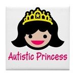 Autistic Princess Tile Coaster