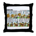 2L0071 - Hans' birthday... Throw Pillow