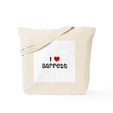 I * Barrett Tote Bag