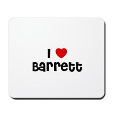 I * Barrett Mousepad