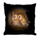 Ashley & Carrie Huddle Throw Pillow
