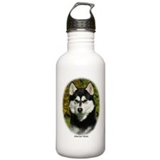 Siberian Husky 9P046D-46 (2) Sports Water Bottle