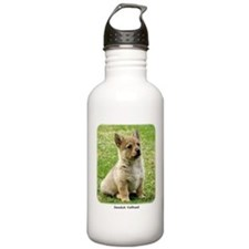 Swedish Vallhund Puppy 9Y165D-173 Water Bottle