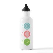 Peace, Love & Dance Sports Water Bottle
