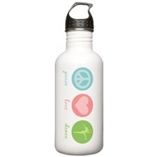 Peace, Love & Dance Water Bottle