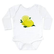Lemons Long Sleeve Infant Bodysuit