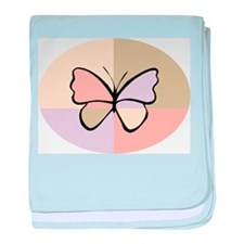 Butterfly218 baby blanket